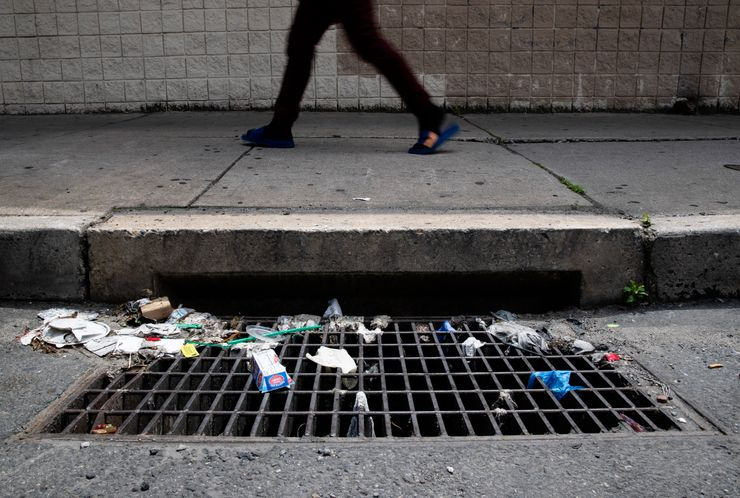 Epidemic of wipes and masks plague sewers, storm drains