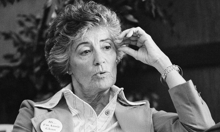 Virtual memorial planned for speech advocate Annie Glenn