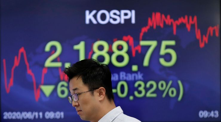 Global shares slide as rising virus cases haunt reopenings