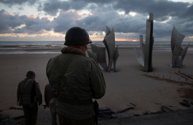 The loneliest of D-Day remembrances is hit by pandemic