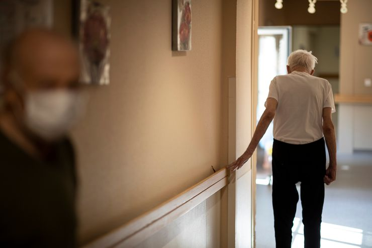 Nations seek to ease nursing home loneliness yet keep safe