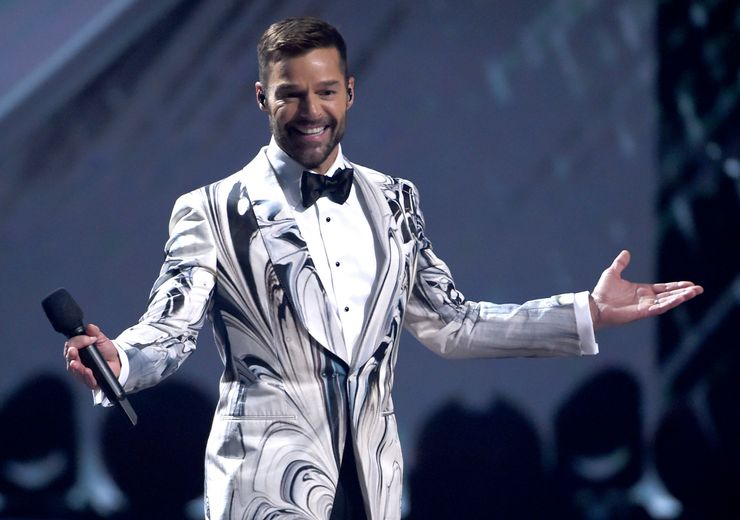 "Ricky Martin makes ""Pausa"" to channel newly found anxiety"