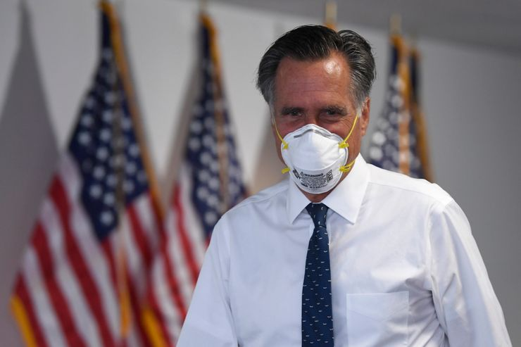 Romney says he'll 'stay quiet' on his 2020 presidential vote