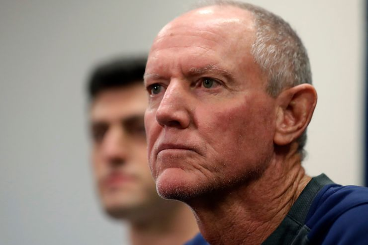 Red Sox manager Roenicke prepares for season in some form