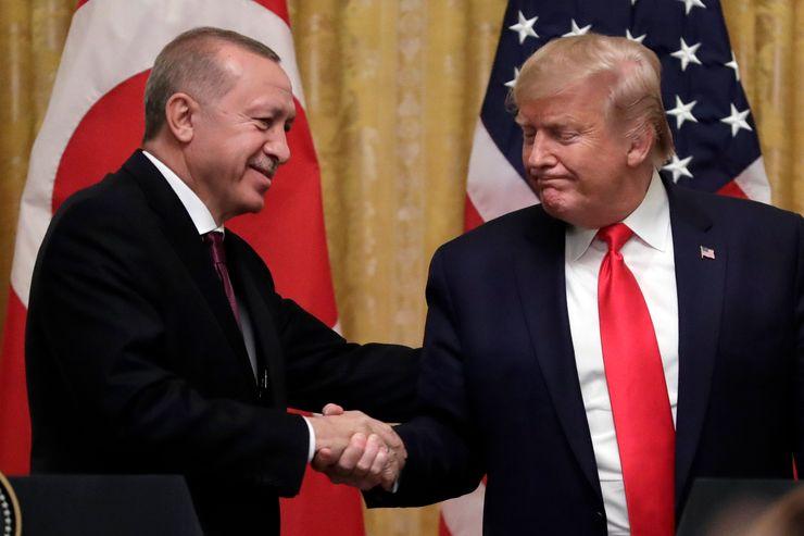 Erdogan, Trump agree on 'close cooperation' in virus crisis
