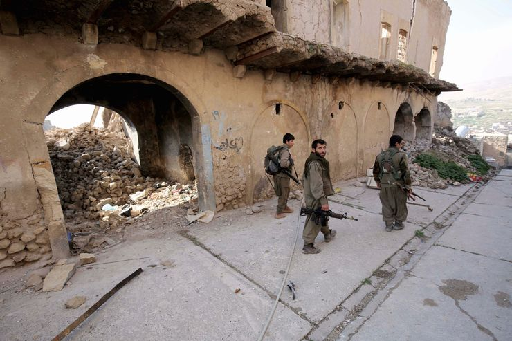 Turkey moves troops against Kurdish rebels in northern Iraq