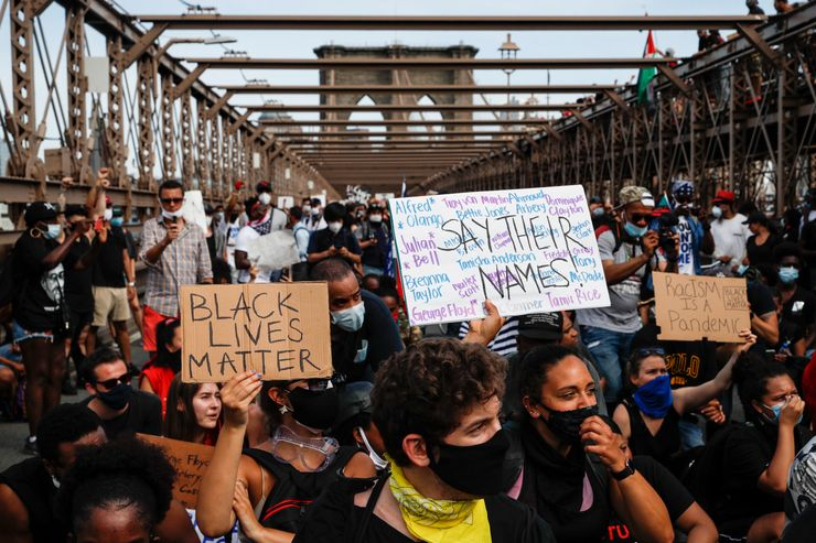 Protest arrests logjam tests NYC legal system, bail reform