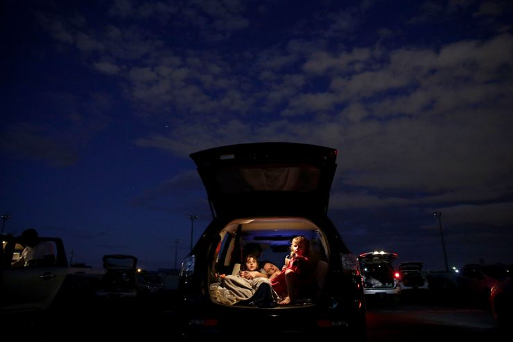 AP PHOTOS: Brazil drive-in, a welcome escape from pandemic