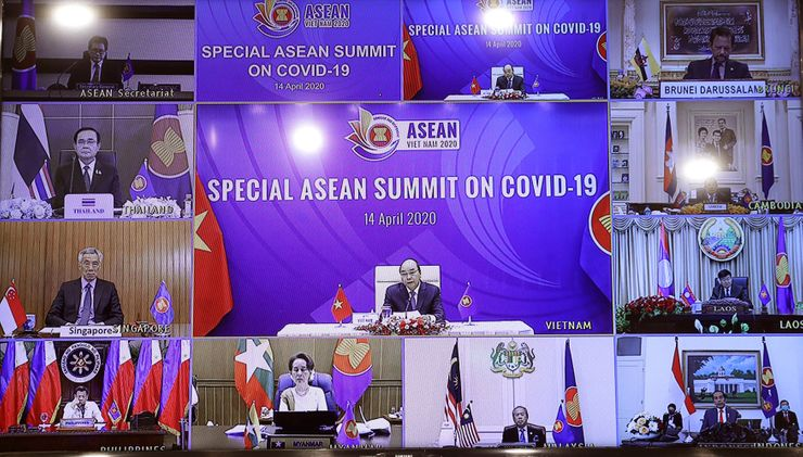 Virtual summit: SE Asia leaders meet by video on pandemic