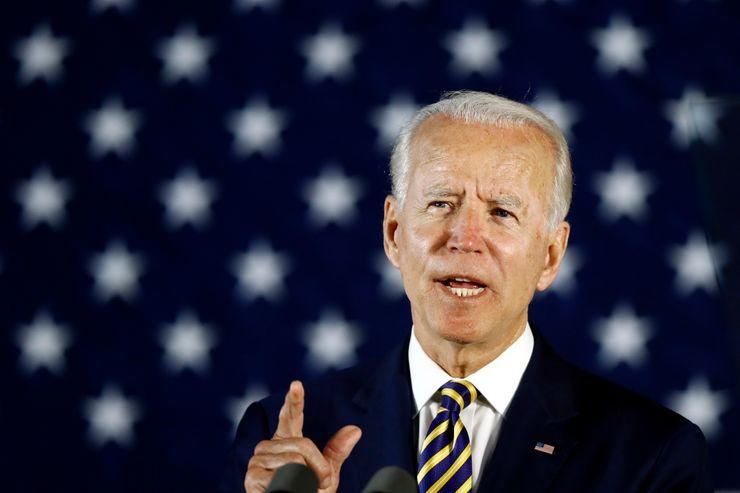 Biden says Trump exercises 'no leadership' on virus response