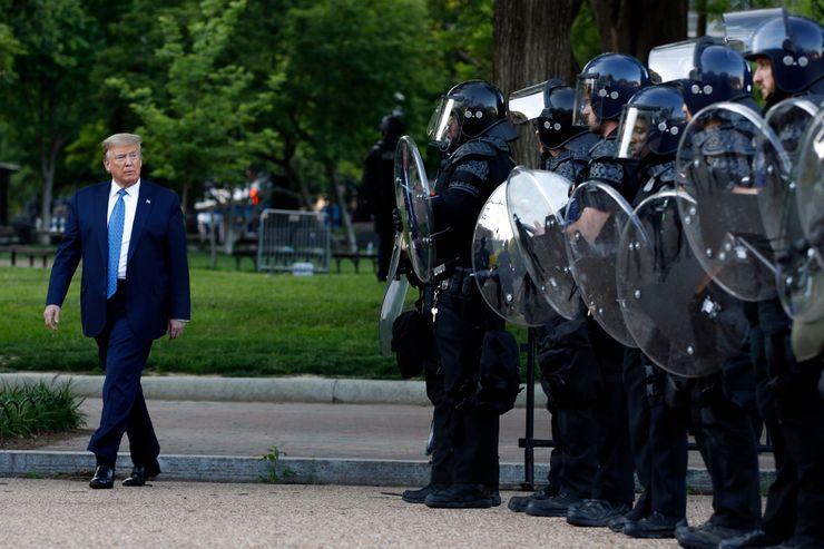 Analysis: Trump emulates strongman tactics, tests his limits