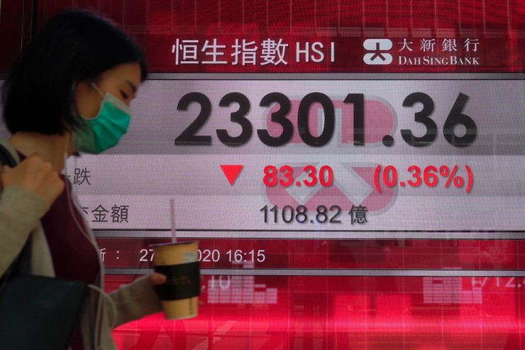 World shares mostly higher ahead of US jobless claims data