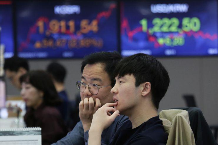 Asian shares climb on China data, Wall Street rally