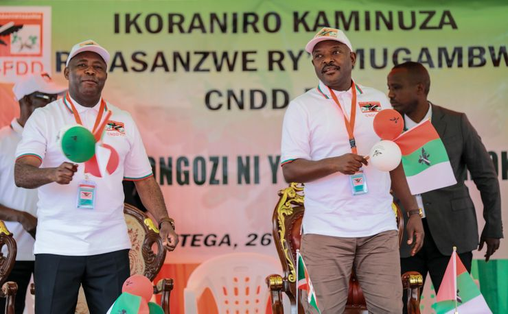 Burundi court says to swear in president-elect immediately