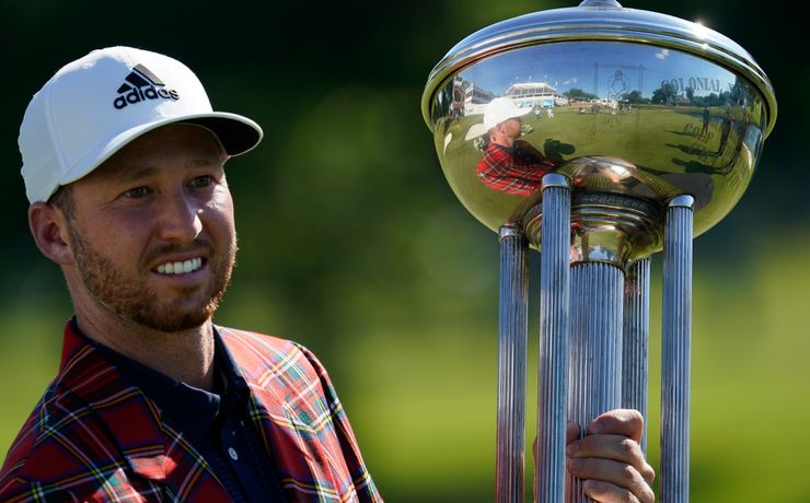 Daniel Berger wins Colonial playoff in PGA Tour's return