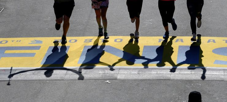 From Hopkinton to Boston, marathon absence is seen and felt