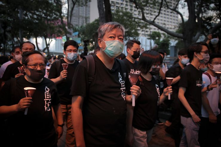 Focus shifts to Hong Kong's fate on Tiananmen anniversary