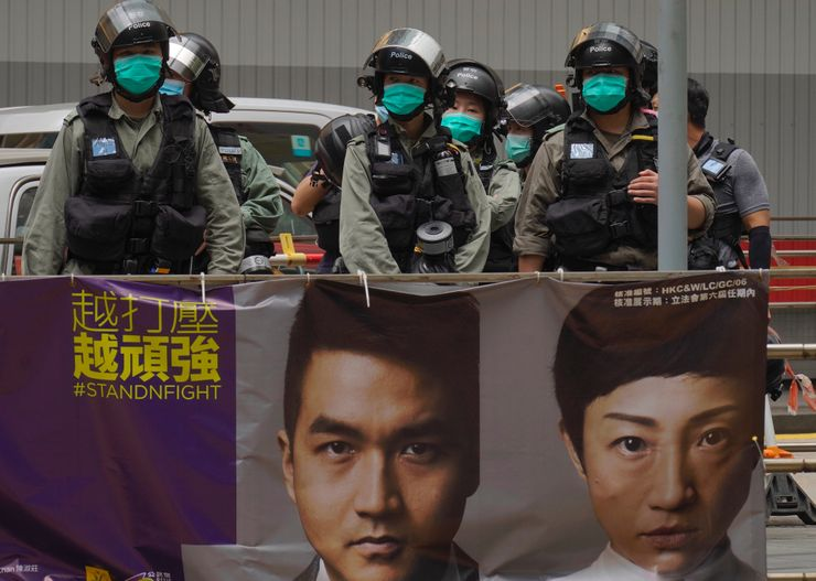 Hong Kong's business hub status imperiled by security law