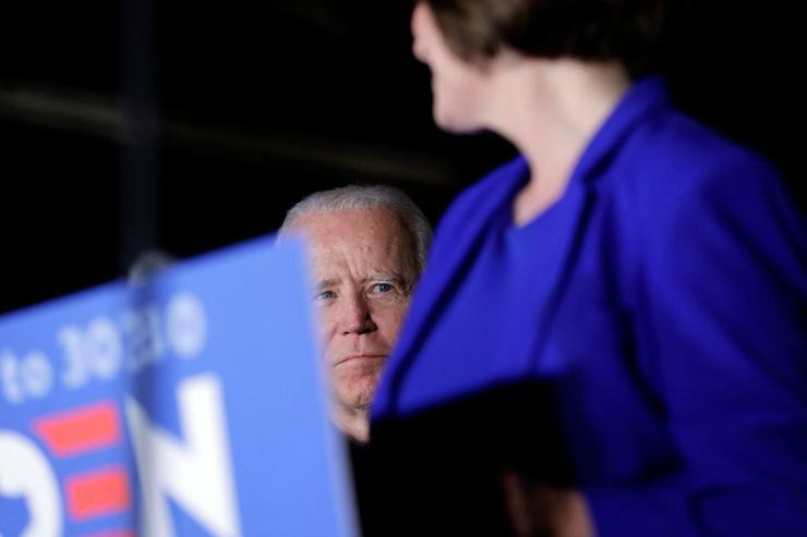 Leading in pandemic becomes part of audition for Biden's VP
