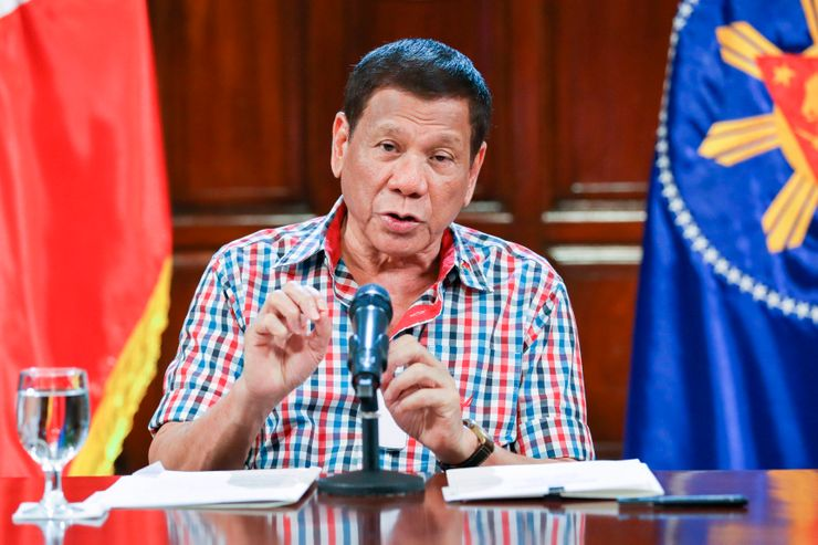 Asia Today: Duterte threatens martial law-like enforcement