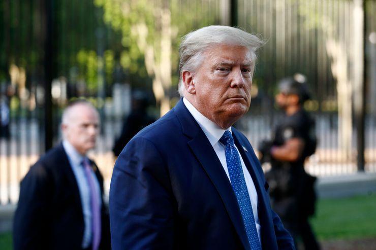 Trump heads to rural Maine but won't escape demonstrators