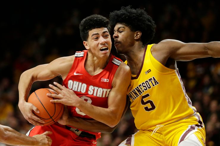 Guard D.J. Carton transferring from Ohio State to Marquette