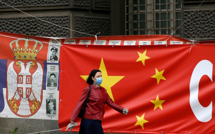 China's 'mask diplomacy' wins support in Eastern Europe