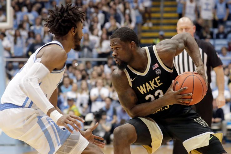 Wake Forest guard Brown entering draft and transfer portal