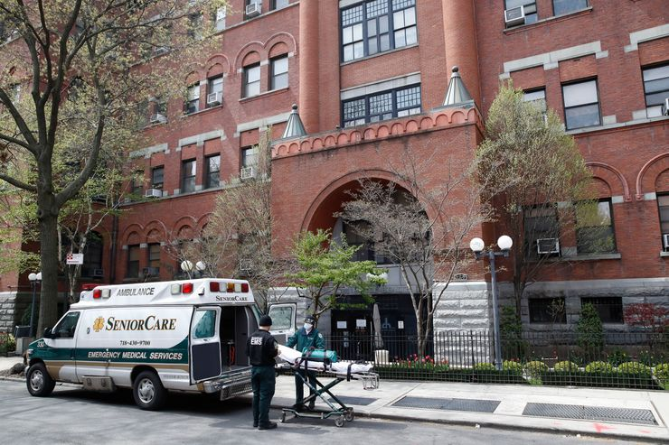'Under siege': Overwhelmed Brooklyn care home tolls 55 dead