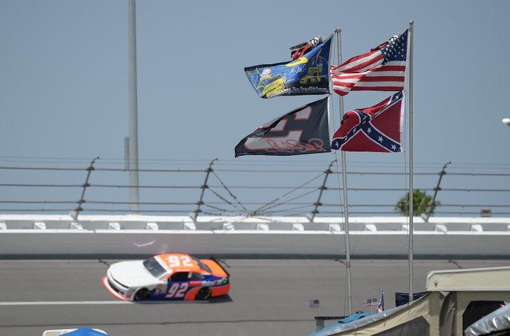 NASCAR bans Confederate flag from its races, venues