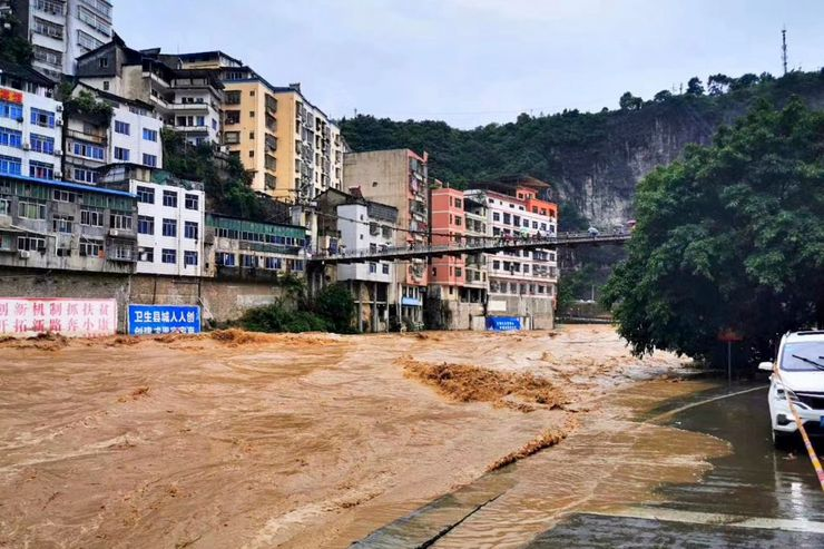 Five dead in latest flooding in southern China rainstorms