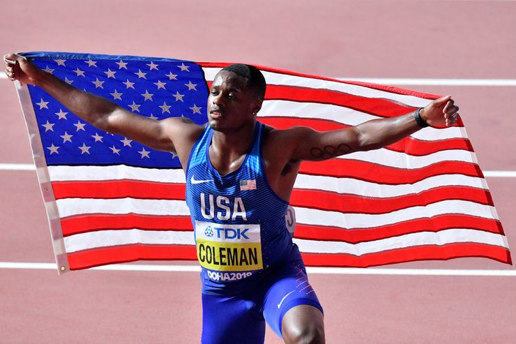 American sprinter Coleman suspended for missing doping tests