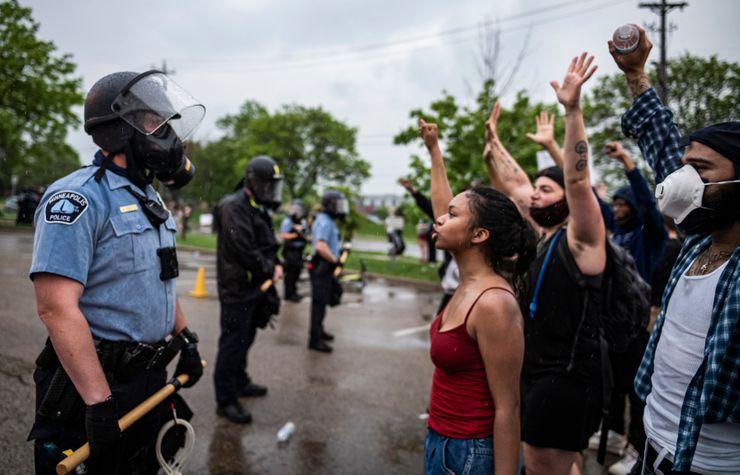 Swift firings for Minneapolis officers in death of black man