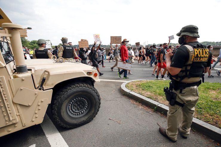 DC Guard members test positive for COVID after protests