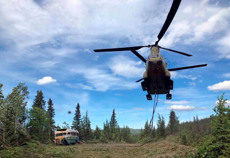 Deaths prompt Alaska officials to remove 'Into the Wild' bus