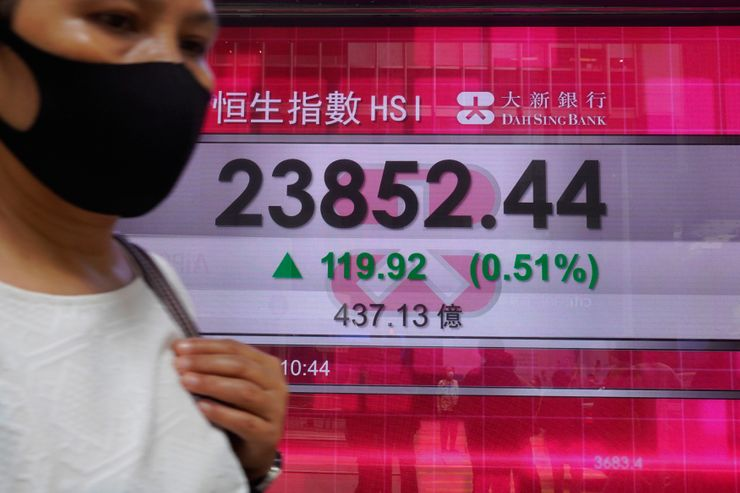 Global shares rise as more economies reopen for business