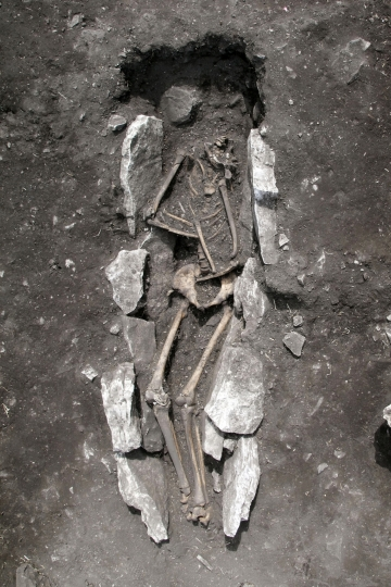 Chilling mountaintop find may confirm dark Greek legend