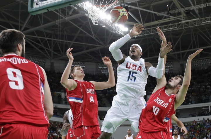 Forget winning big, US men's basketball just barely winning