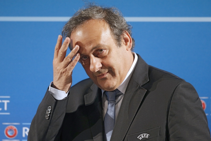 Banned Platini to give speech before successor elected