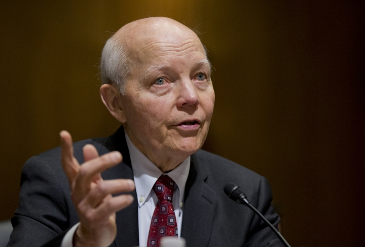 Republican deal averts vote on impeaching head of IRS