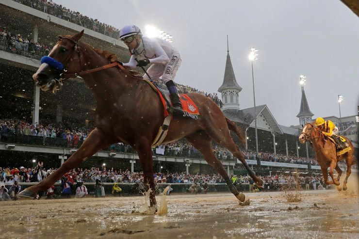 Louisville adjusts to new date and season for Kentucky Derby