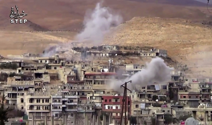 Maintenance stems clashes over Syrian capital water source