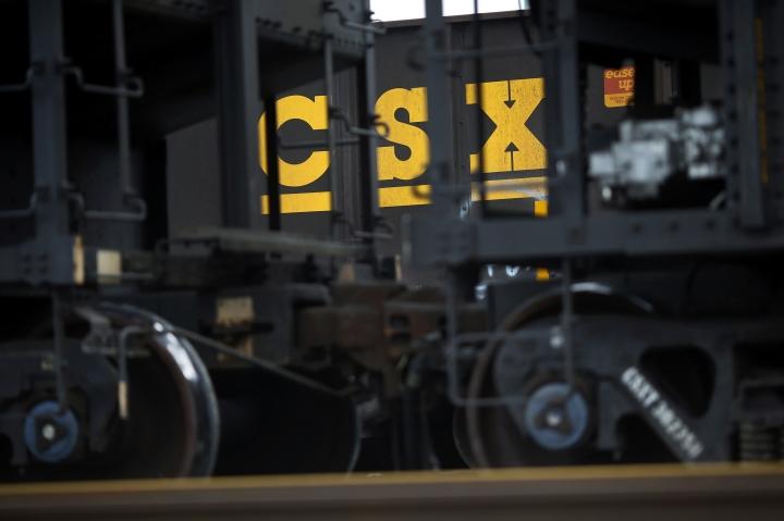 CSX Corp.'s fourth-quarter profit declines 2 percent