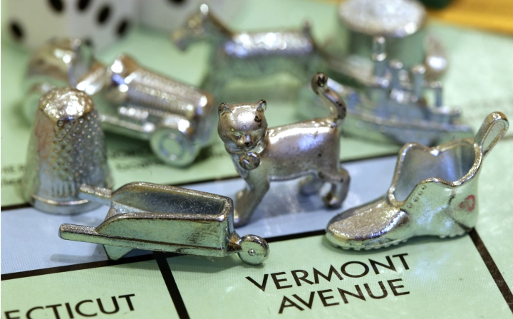 Thimble tossed! Game piece voted out of Monopoly board game