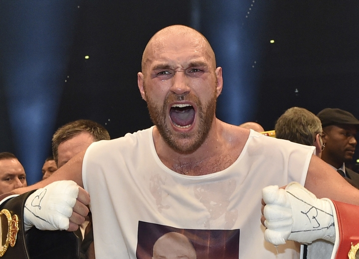 Tyson Fury says has moved on from 'scary place'