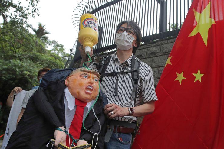 China says US action on Hong Kong 'doomed to fail'