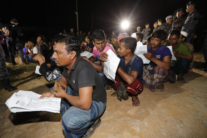 Malaysia detains 77 foreigners in migrant worker crackdown