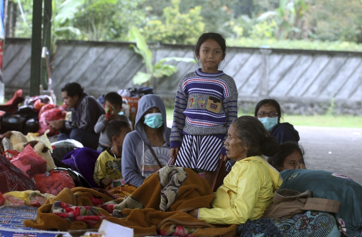 Evacuations from Bali volcano swell to more than 57,000