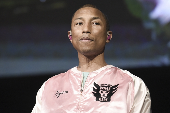Pharrell Williams sounds warning about climate change