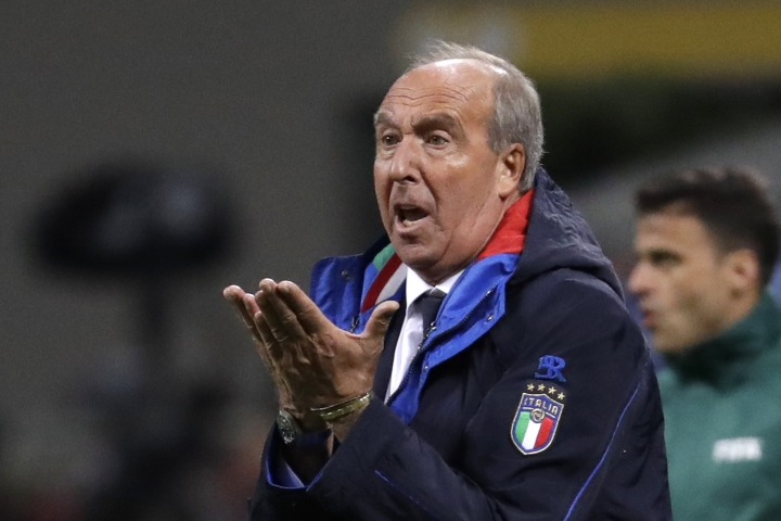 Italy coach fired as FA chief resists calls to step down